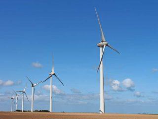 Éolienne 40MC, abat-poussière, chlorure de calcium, aussi peu corrosif que l'eau de pluie, Somavrac C.C